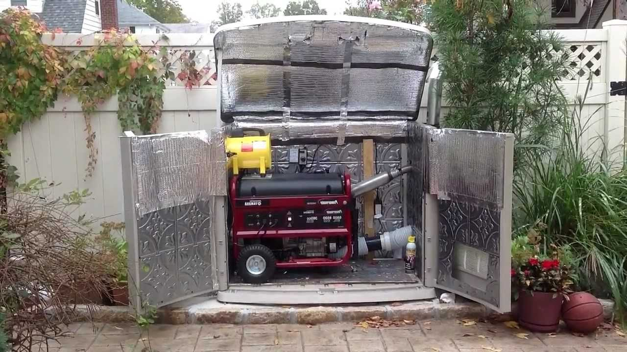 How to choose the right generator enclosure kit?