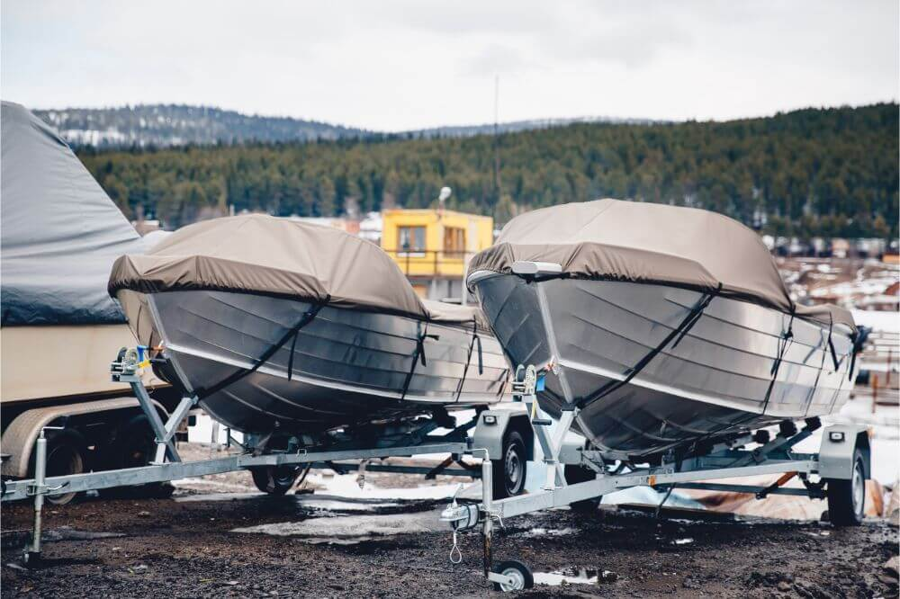 How To Cover A Boat For Winter Storage